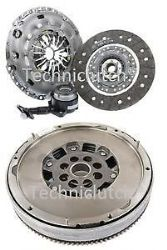FORD TRANSIT TOURNEO CONNECT 1.8TDCI TDCI 90 SMF FLYWHEEL CLUTCH AND CSC